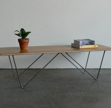 Mid Century Modern Inspired Coffee Table