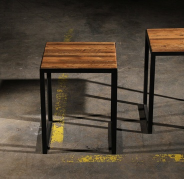 Lark Patchwork Side Tables (2 pair)