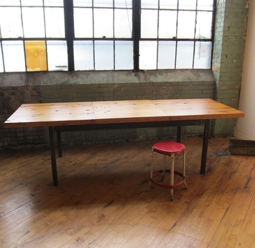Reclaimed Extension Table