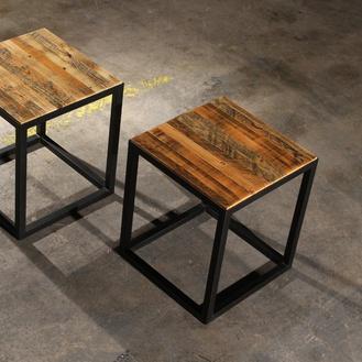 Sparrow Framed Side Tables (2 pair)