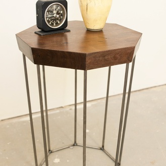 Octagonal Side Table